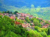 Villaggio di Metsovo, Grecia fotografie stock libere da diritti