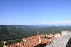 Villaggio di Motovun in Croazia, Europa Immagine Stock