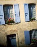 Villaggio di Najac - della Francia Fotografie Stock
