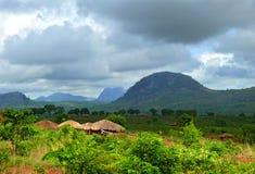 Villaggio di Nampevo sulla natura. L'Africa, Mozambico. Fotografia Stock