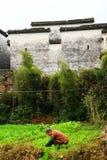 Villaggio di Nanping, un tipo famoso architettura antica di Huizhou in Cina Immagine Stock
