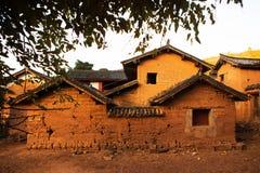 Villaggio di Nuo Deng Immagine Stock Libera da Diritti