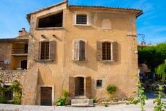 Villaggio di Oppede le Vieux Francia Fotografia Stock