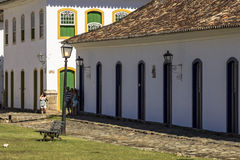 Villaggio di Paraty Fotografia Stock Libera da Diritti