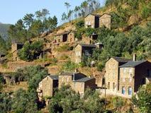 Villaggio di Piodao, Portogallo Fotografie Stock