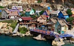 Villaggio di Popeye Immagine Stock