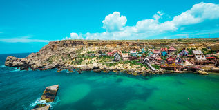 Villaggio di Popeye Immagini Stock Libere da Diritti
