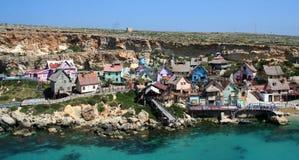 Villaggio di Popeye fotografia stock libera da diritti