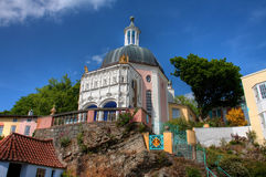 Villaggio di Portmeirion fotografia stock