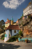 Villaggio di Portmeirion fotografie stock