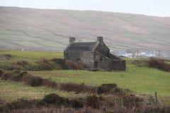 Villaggio di rame Allihies Irlanda di estrazione mineraria Fotografie Stock