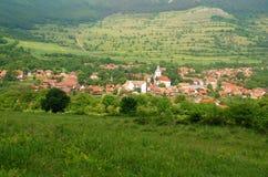 Villaggio di Rimetea Fotografia Stock