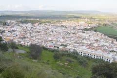 Villaggio di Rio del di Almodovar, Cordova, Spagna Immagini Stock Libere da Diritti
