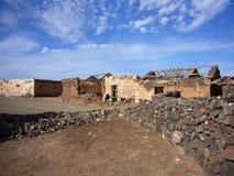 Villaggio di rovina Fotografie Stock
