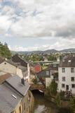 Villaggio di Saarburg Fotografia Stock