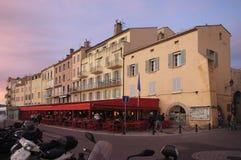 Villaggio di Saint Tropez, immagini stock