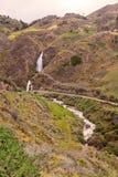 Villaggio di Santa Rosa Waterfall Near An Indigenous Fotografie Stock Libere da Diritti