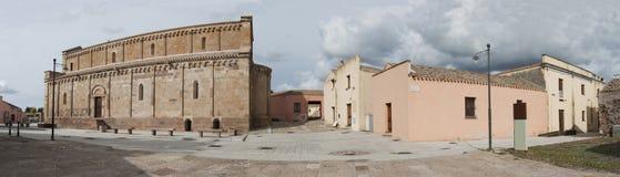 Villaggio di Sardinia.Old Fotografia Stock Libera da Diritti