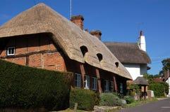 Villaggio di Selbourne, Hampshire Immagini Stock