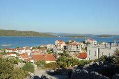 Villaggio di Sevid Fotografia Stock