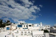 Villaggio di Sidi Bou Said Immagine Stock