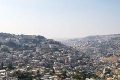 Villaggio di Silwan a Gerusalemme Immagini Stock Libere da Diritti