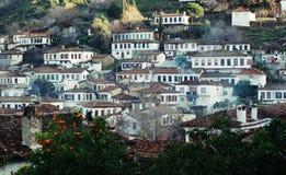 Villaggio di Sirince Immagini Stock Libere da Diritti