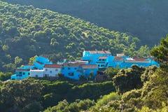 Villaggio di Smurf Fotografia Stock