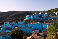 Villaggio di Smurf Immagine Stock