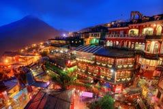 Villaggio di Taiwan Fotografia Stock Libera da Diritti