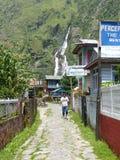 Villaggio di Tal nel Nepal Fotografie Stock