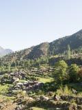Villaggio di Tamang nel Nepal Fotografia Stock Libera da Diritti
