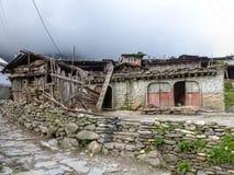 Villaggio di Tanchok, Nepal Immagine Stock Libera da Diritti