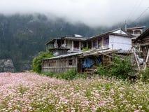 Villaggio di Tanchok, Nepal Immagini Stock