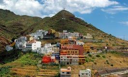 Villaggio di Tenerife Fotografie Stock Libere da Diritti