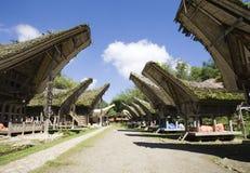 Villaggio di Toraja Fotografia Stock Libera da Diritti