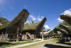 Villaggio di Toraja immagini stock libere da diritti