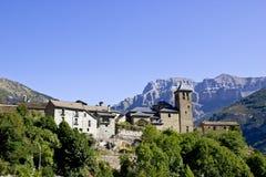 Villaggio di Torla, Spagna Immagini Stock