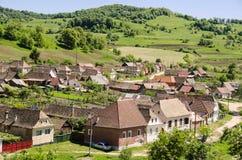Villaggio di Transylvanian Fotografia Stock