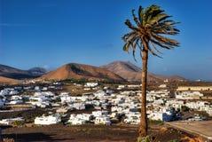 Villaggio di Uga su Lanzarote Fotografia Stock Libera da Diritti