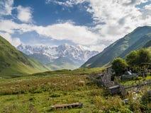 Villaggio di Ushguli Europa, Caucaso, Georgia Fotografia Stock