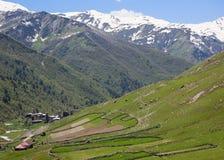 Villaggio di Ushguli. Svaneti superiore. Georgia. Immagini Stock