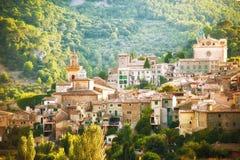 Villaggio di Valldemosa in Mallorca fotografie stock