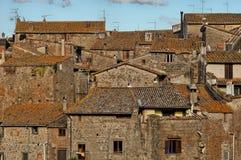 Villaggio di Vitorchiano Fotografie Stock Libere da Diritti