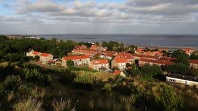 Villaggio di Vlieland fotografie stock libere da diritti