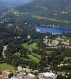 Villaggio di Whistler, Canada Immagini Stock