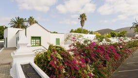 Villaggio di Yaiza, isola di Lanzarote, Spagna Immagini Stock Libere da Diritti