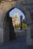 Villaggio a distanza in Sicilia Fotografie Stock Libere da Diritti