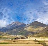 Villaggio in Dolpo, Nepal di Dho Tarap Fotografia Stock Libera da Diritti