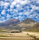 Villaggio in Dolpo, Nepal di Dho Tarap Immagini Stock Libere da Diritti